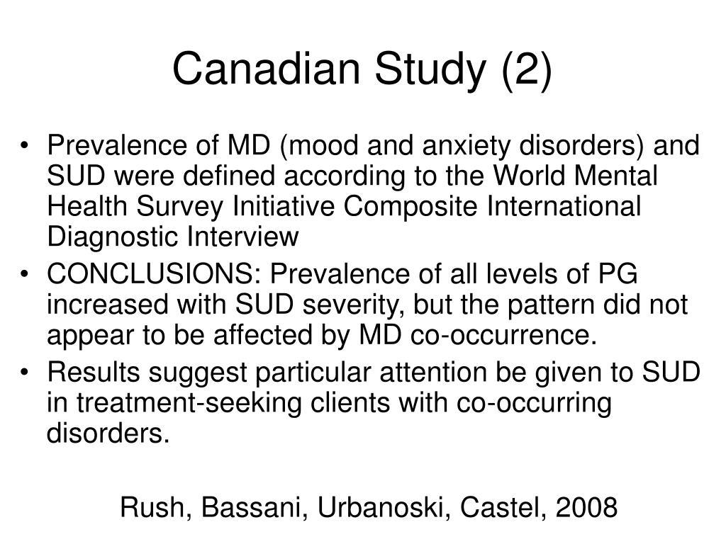 Canadian Study (2)