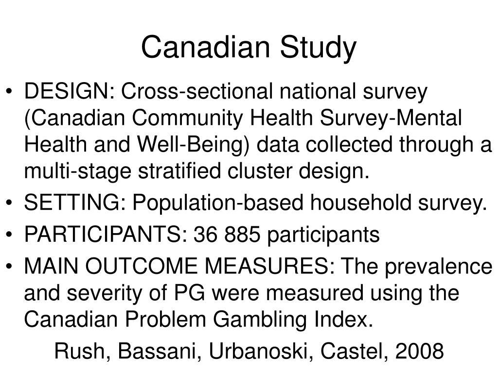 Canadian Study