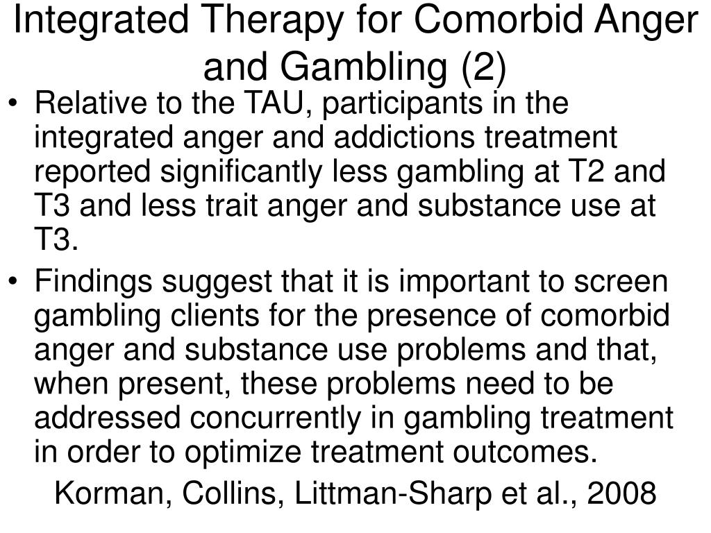 Integrated Therapy for Comorbid Anger and Gambling (2)