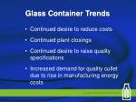 glass container trends