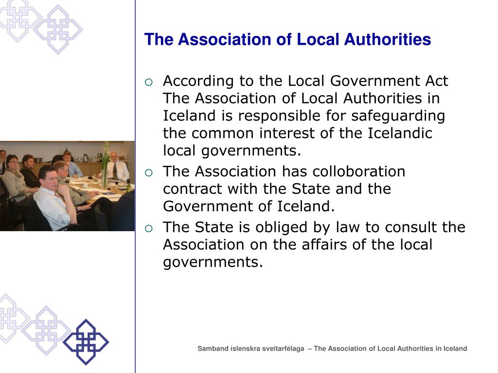 The Association of Local Authorities