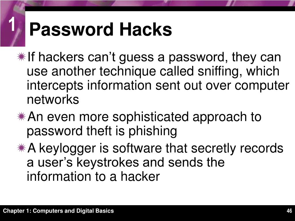 Password Hacks