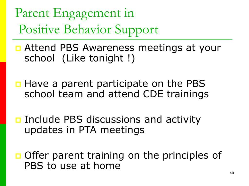 Parent Engagement in