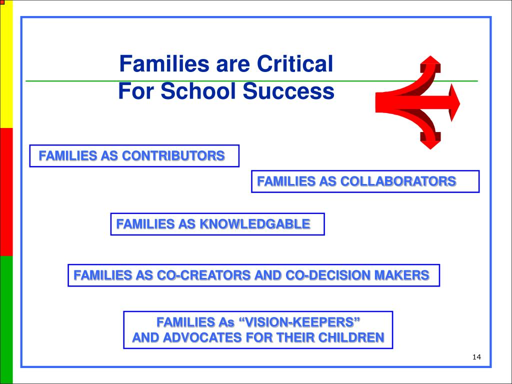 Families are Critical