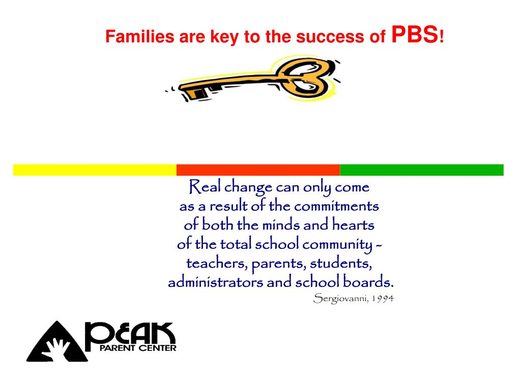 Families are key to the success of