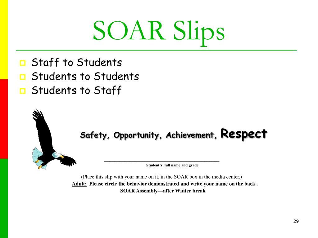 SOAR Slips
