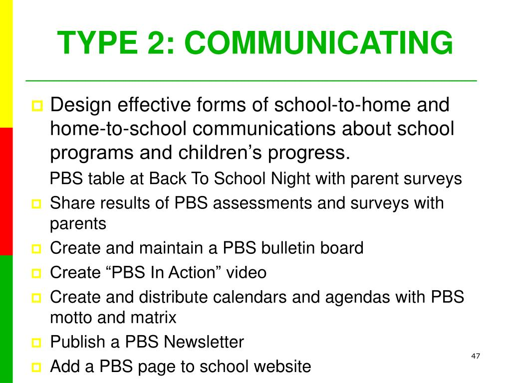 TYPE 2: COMMUNICATING
