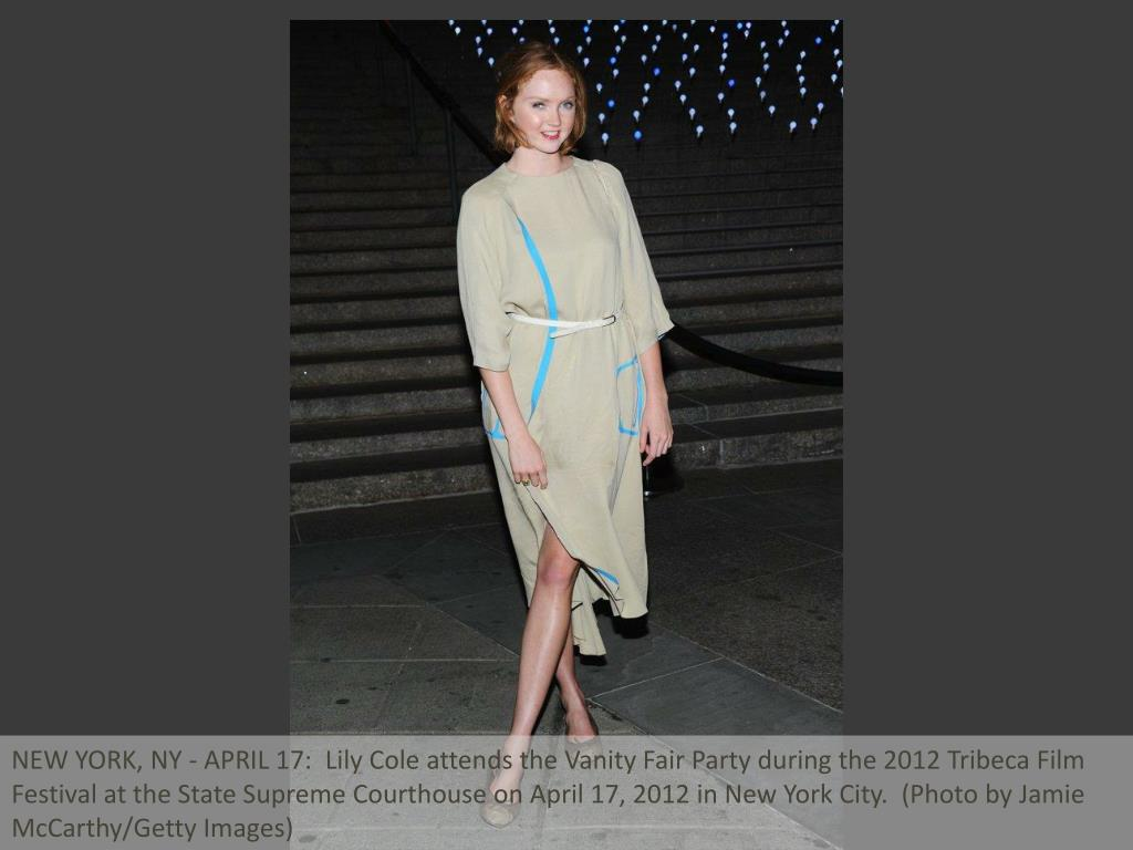 NEW YORK, NY - APRIL 17:  Lily Cole attends the Vanity Fair Party during the 2012 Tribeca Film Festival at the State Supreme Courthouse on April 17, 2012 in New York City.  (Photo by Jamie McCarthy/Getty Images)