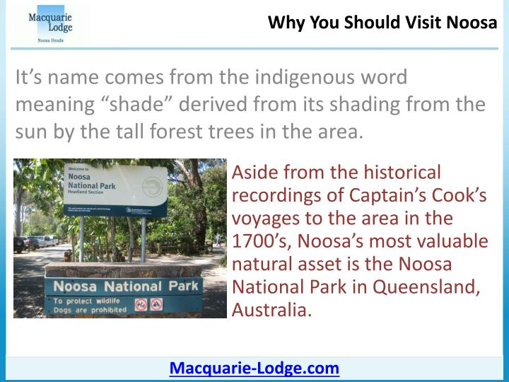 Why you should visit noosa3