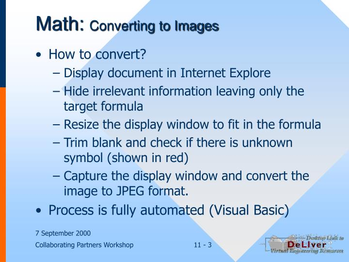 Math converting to images3