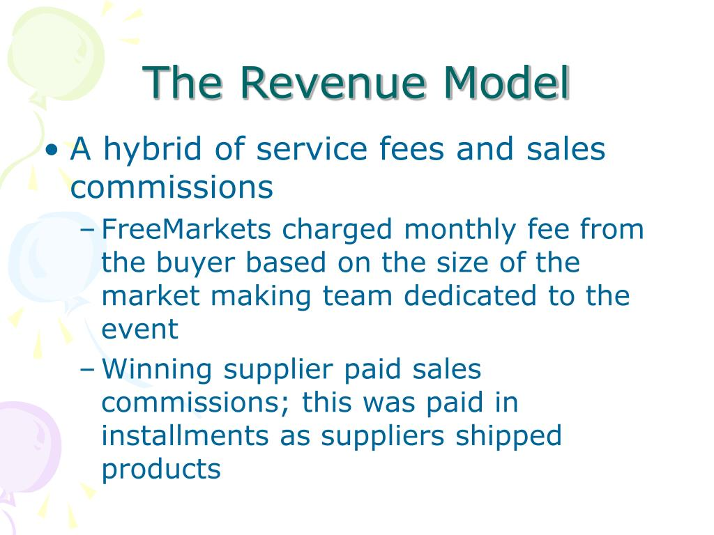 The Revenue Model