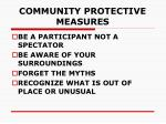 community protective measures38