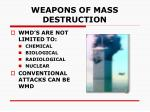 weapons of mass destruction17
