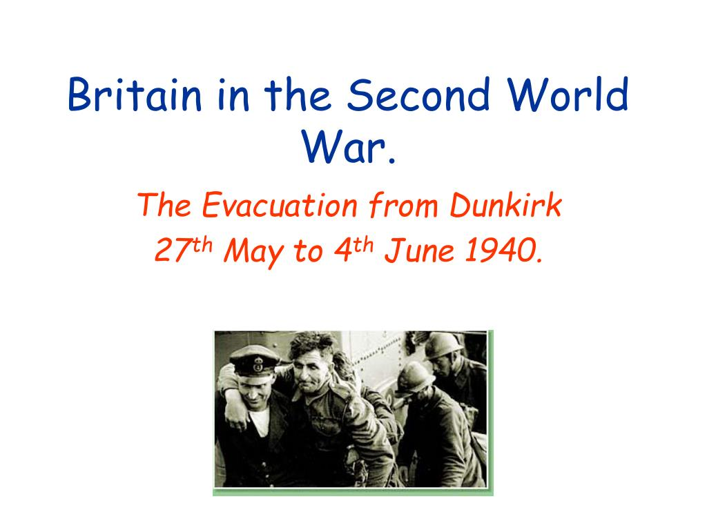 britain in the second world war l.
