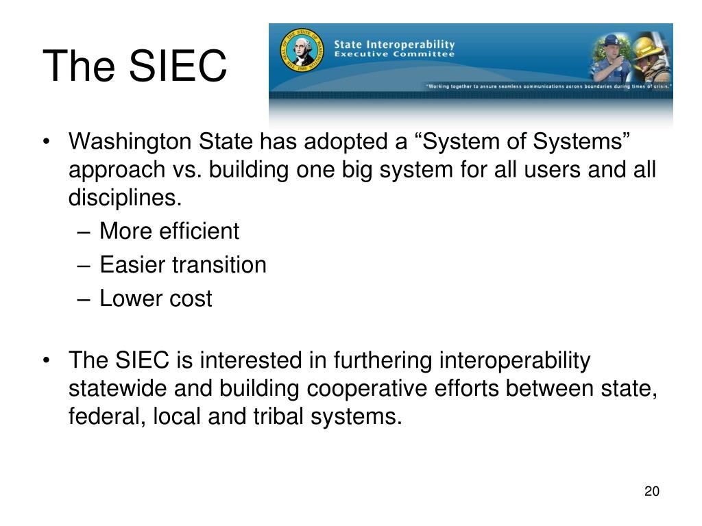 The SIEC