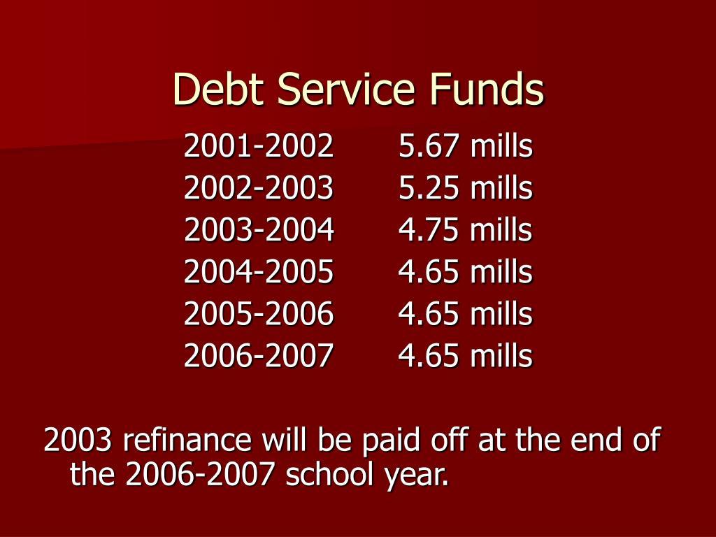 Debt Service Funds