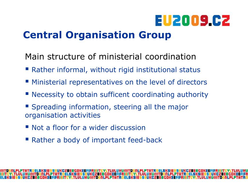 Central Organisation Group