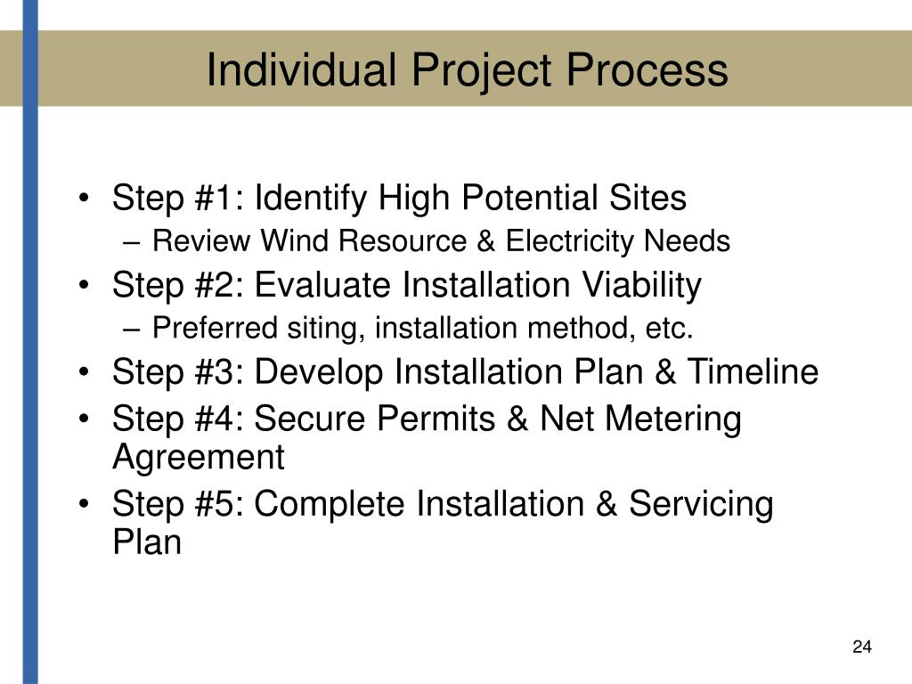 Individual Project Process