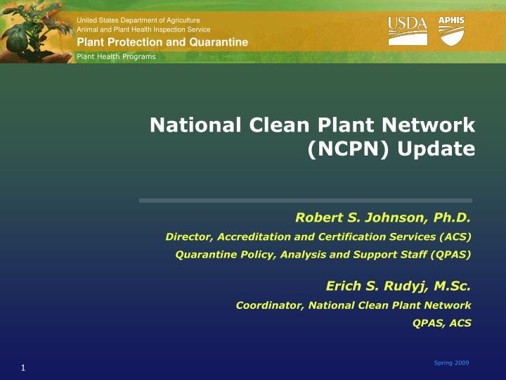 Plant Health Programs