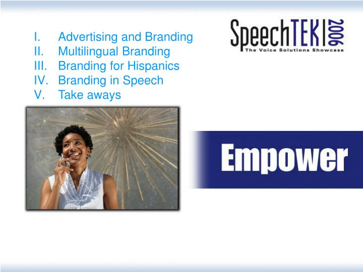 Advertising and Branding