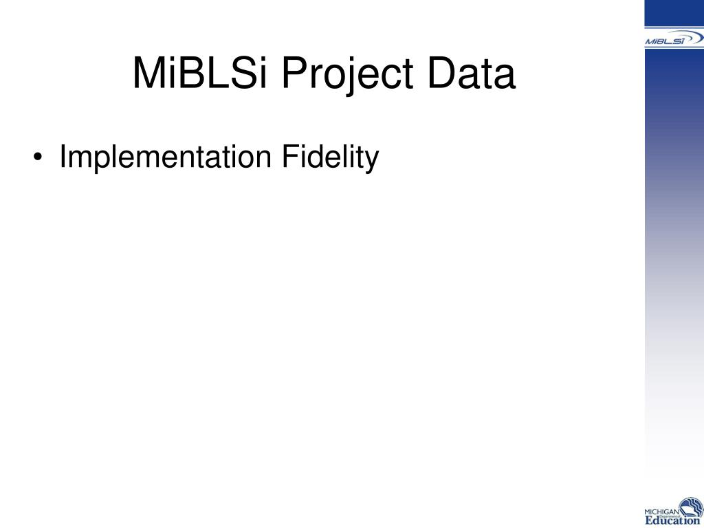 MiBLSi Project Data