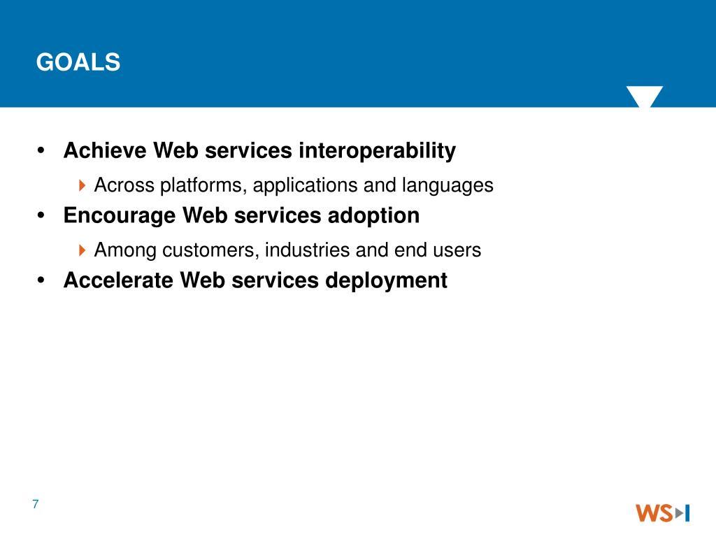 Achieve Web services interoperability