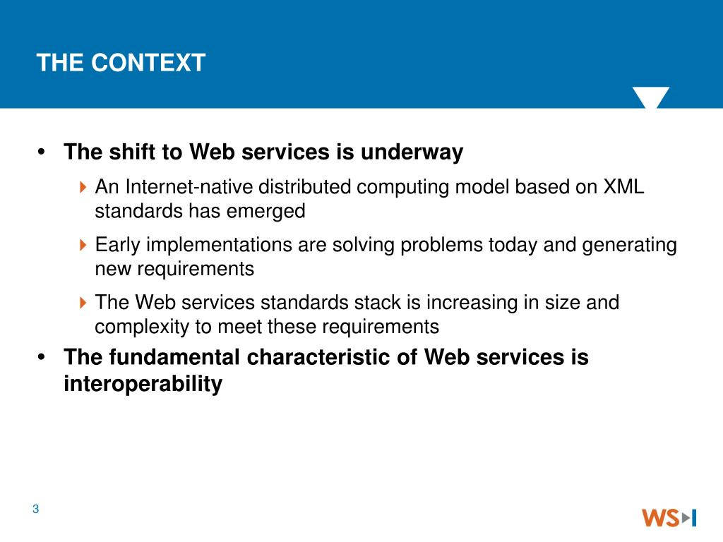 The shift to Web services is underway