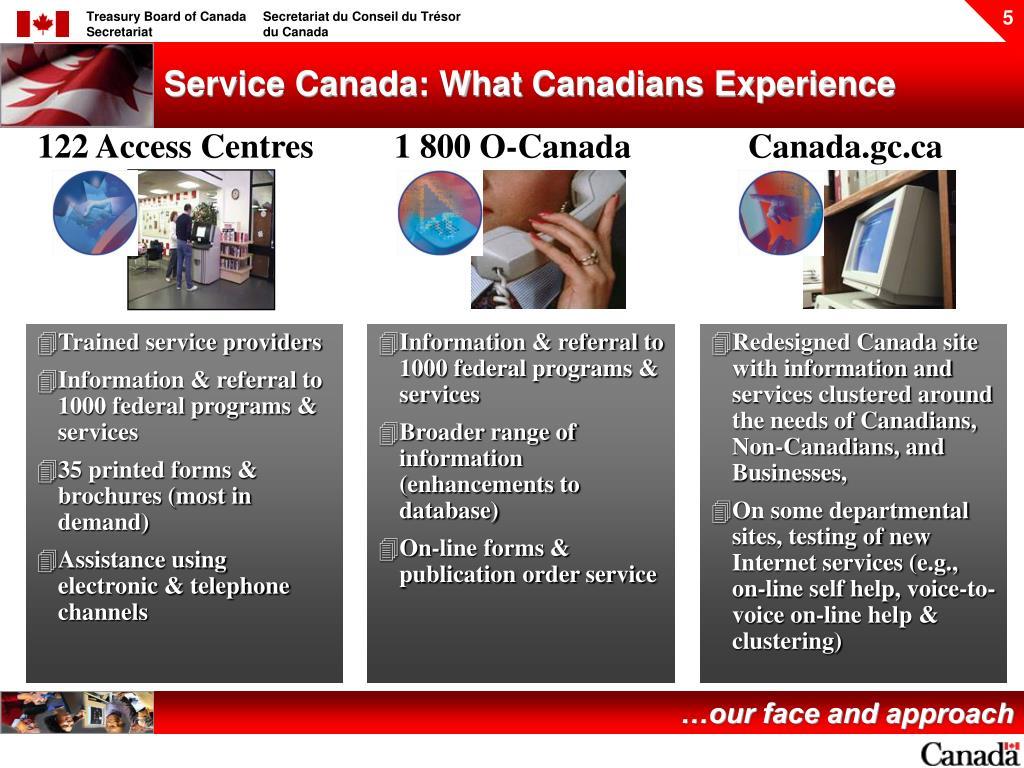 122 Access Centres