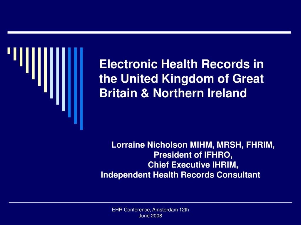 Electronic Health Records in the United Kingdom of Great Britain & Northern Ireland