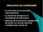 procesos de corrosi n