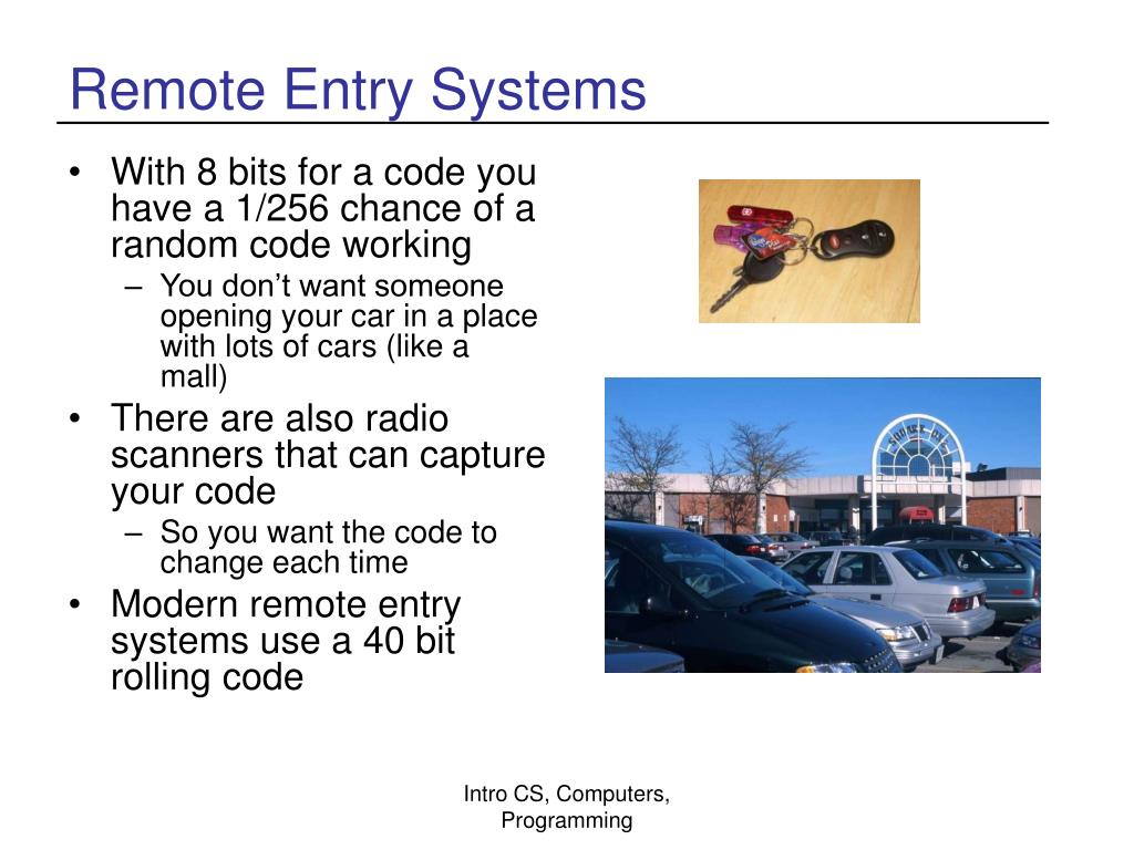 Remote Entry Systems