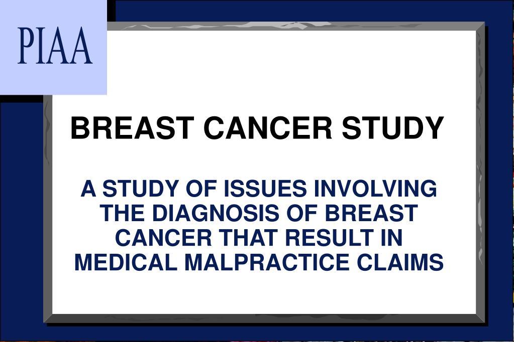 breast cancer study l.