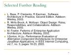 selected further reading