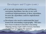 developers and crypto cont119