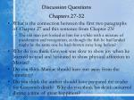 discussion questions chapters 27 32