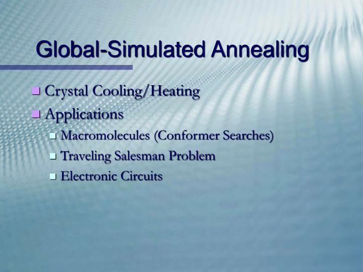 Global-Simulated Annealing