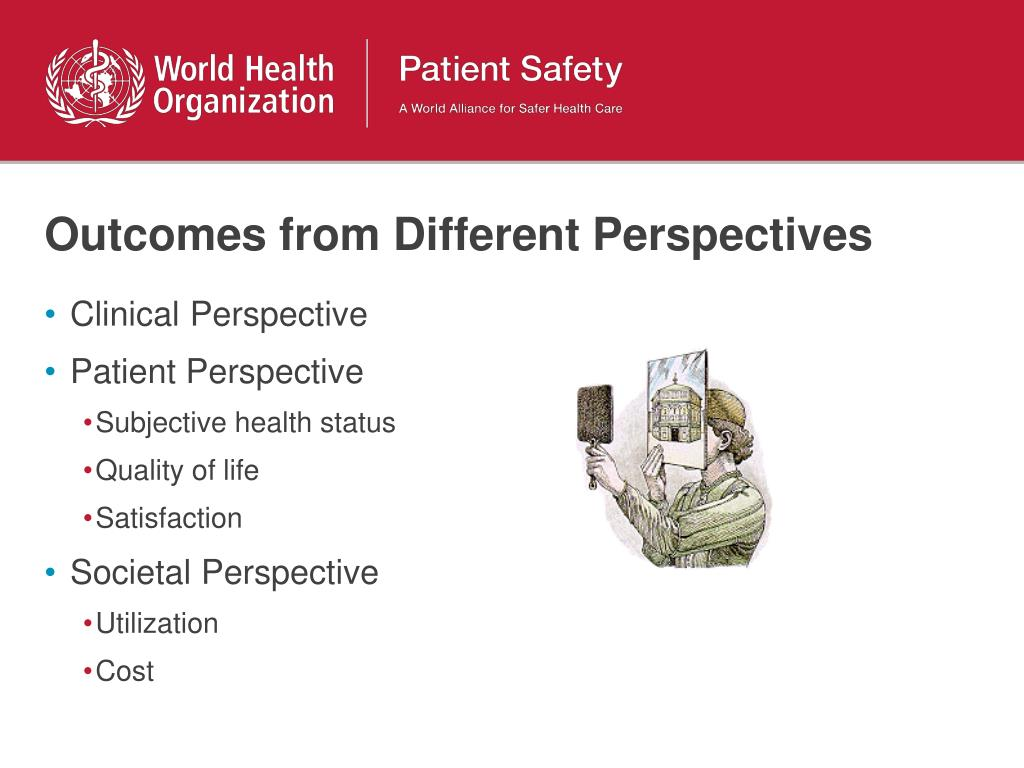 Outcomes from Different Perspectives