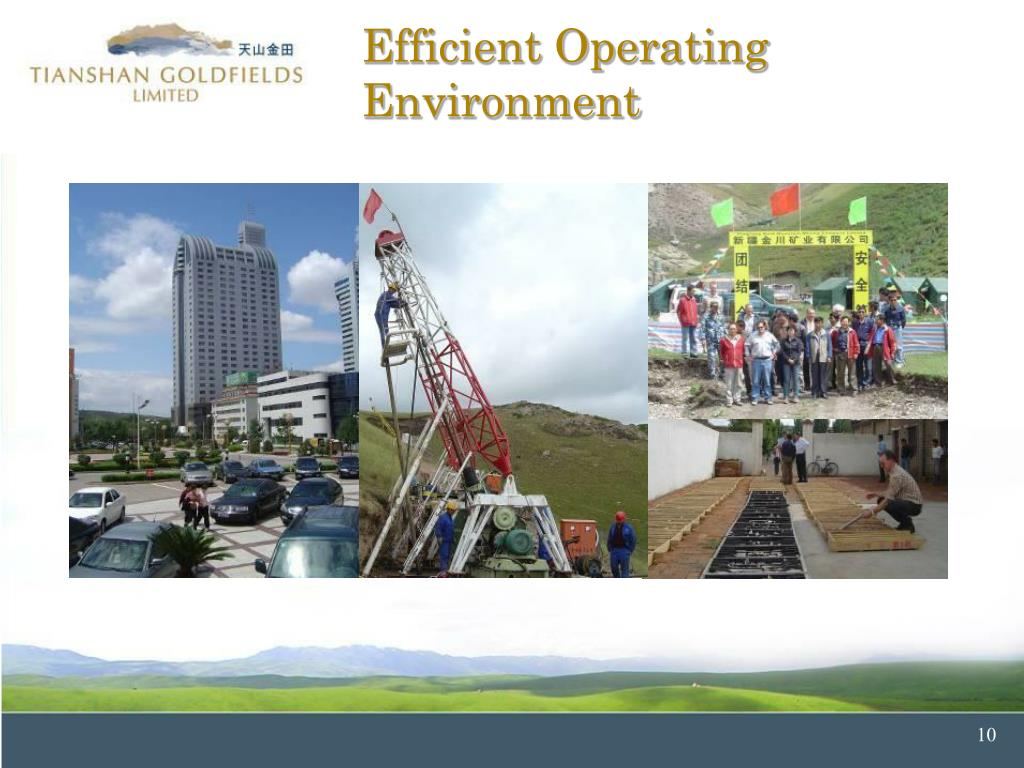 Efficient Operating Environment