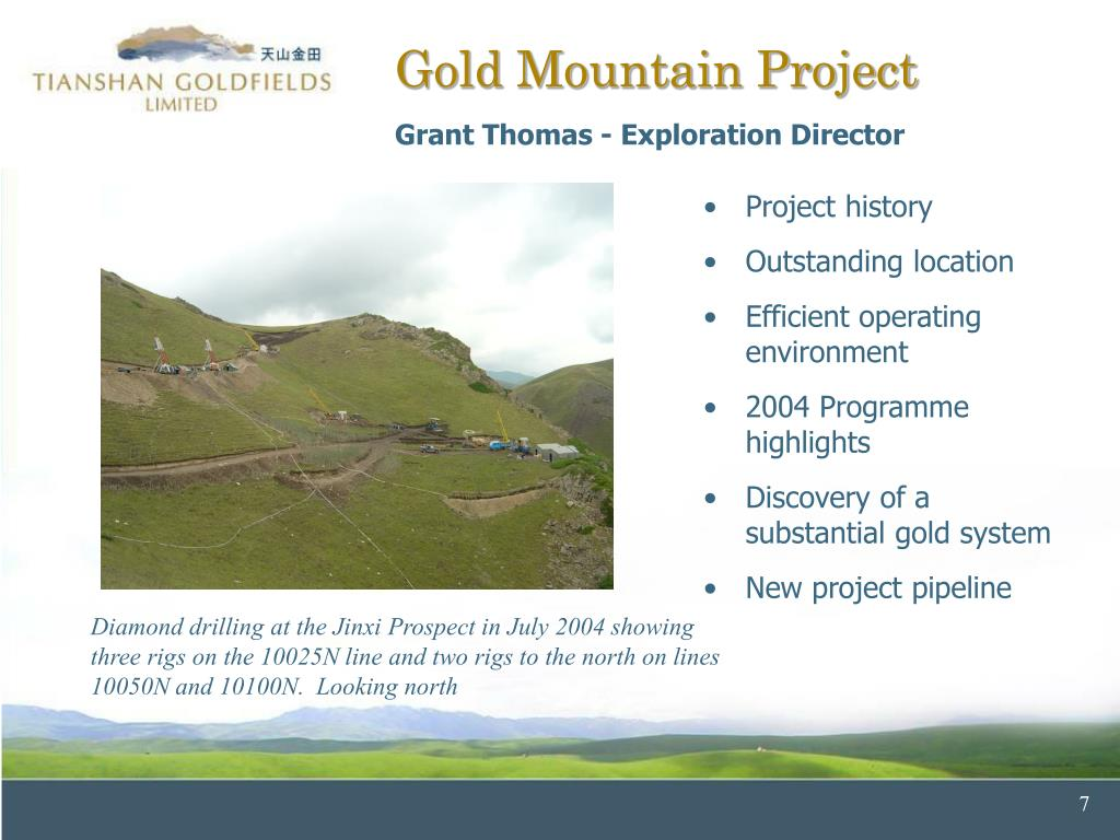 Gold Mountain Project