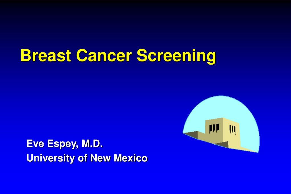 breast cancer screening l.