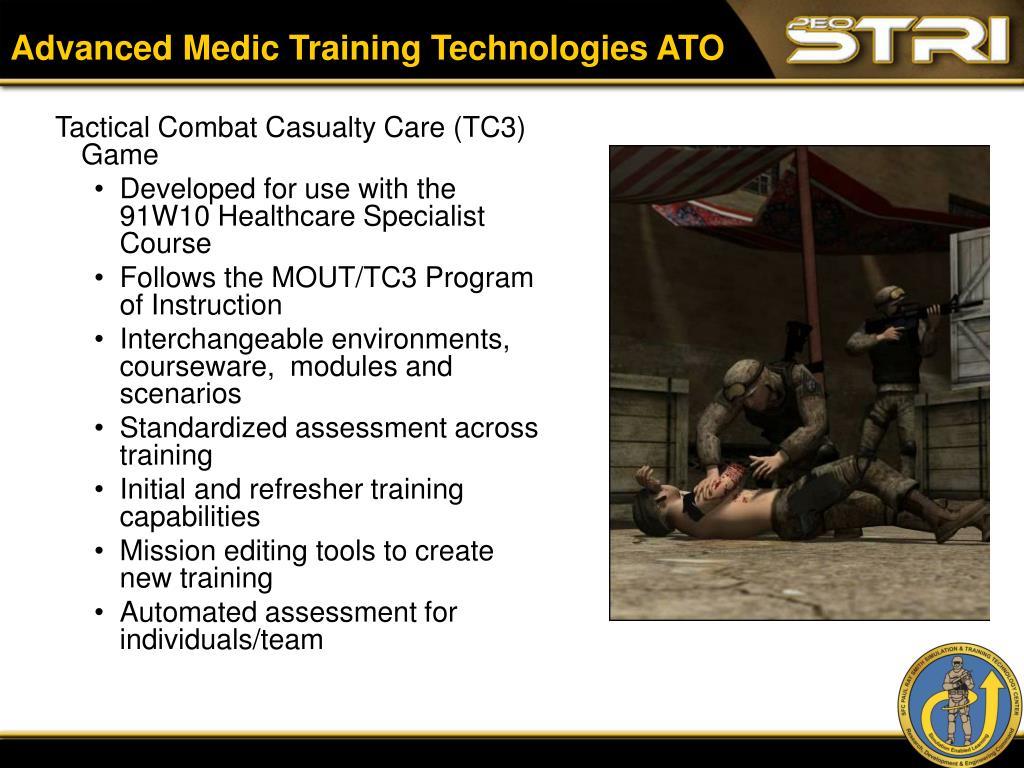 Advanced Medic Training Technologies ATO