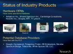 hardware oems have some operational hardware