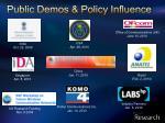 public demos policy influence