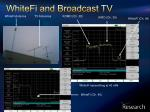 whitefi and broadcast tv