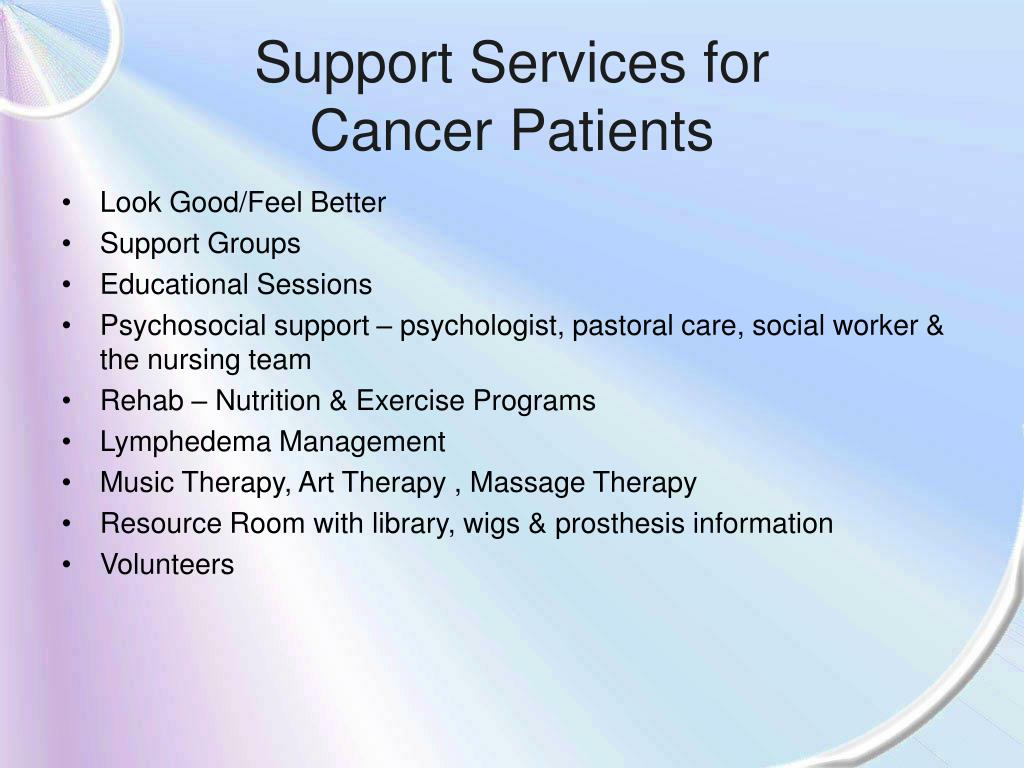 Support Services for