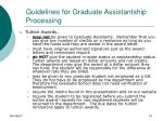 guidelines for graduate assistantship processing10