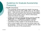 guidelines for graduate assistantship processing7