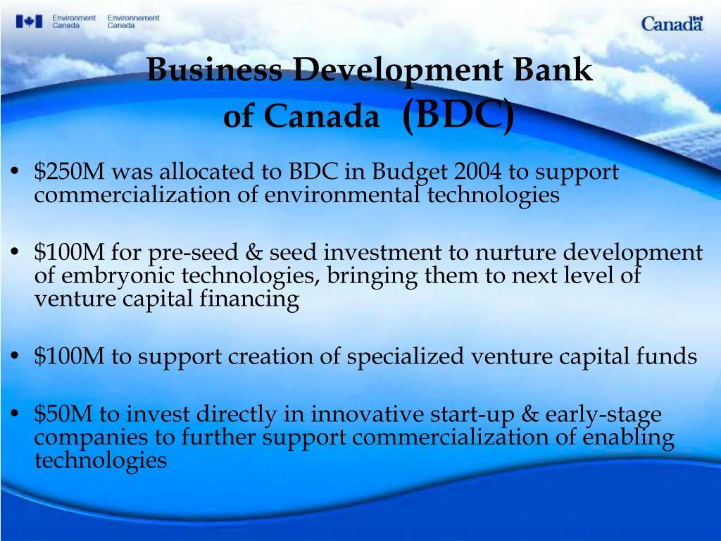 Business Development Bank