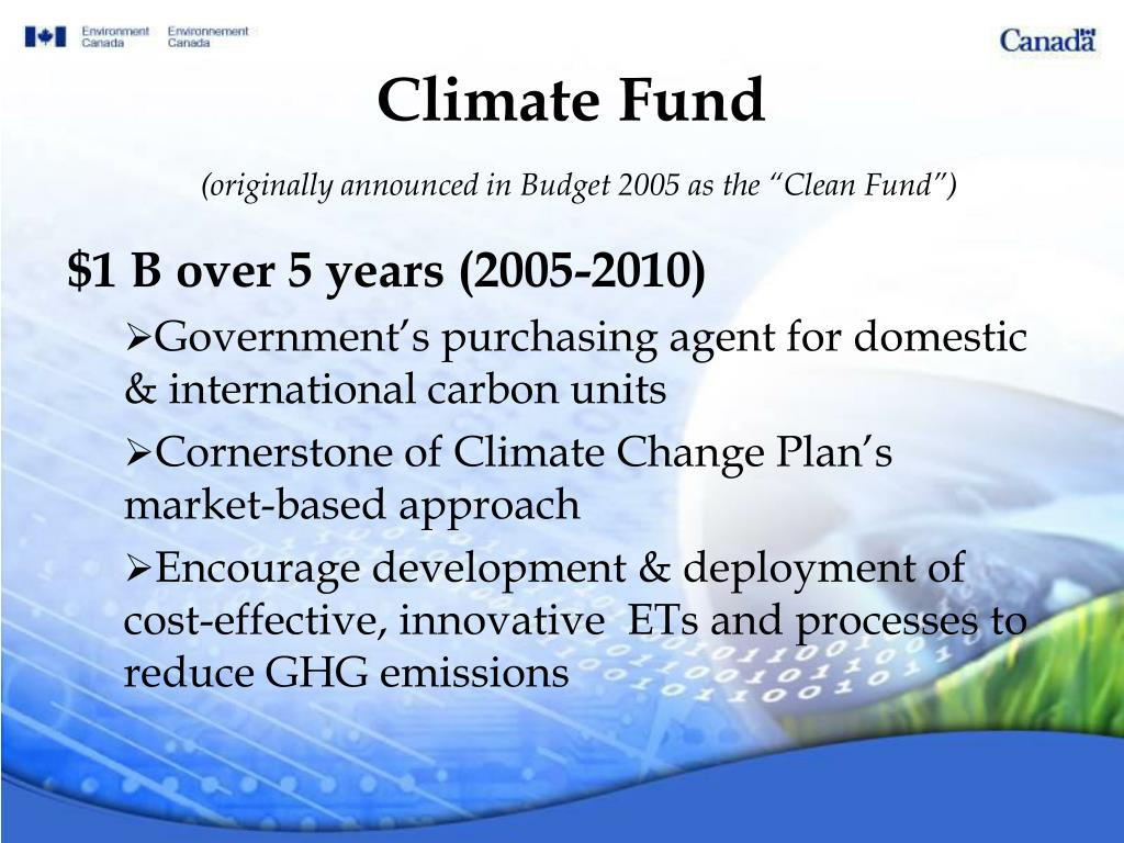 Climate Fund