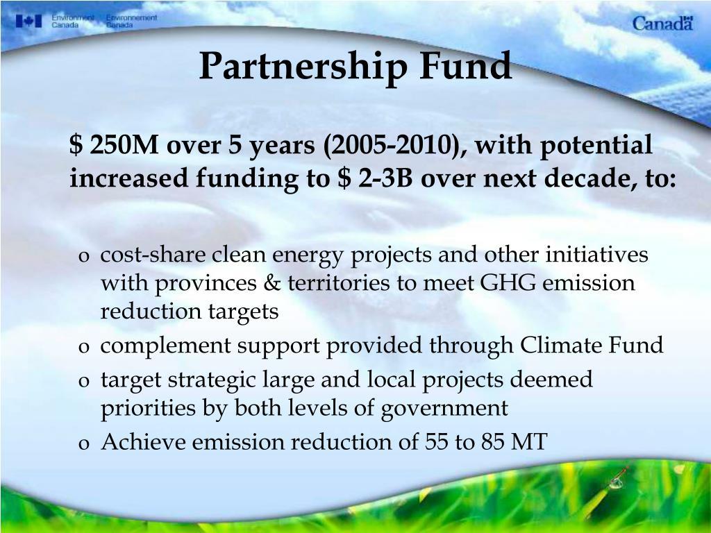 Partnership Fund
